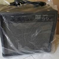 Ampli Amply Amplifier untuk Gitar Bass Epiphone 15B