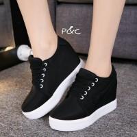 sandal sepatu wedges wanita sneakers