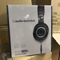 Jual Audio Technica ATH-M50X Headphone Recording (black color) Murah