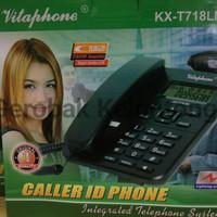Pesawat Telepon Vitaphone / Telepon Rumah KX-T718 MID