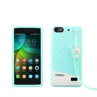 Soft Case Casing HP Huawei Honor 4C Cover 3D Silikon Softcase FABITOO