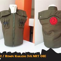 Rompi Jaket Anime Naruto Kakashi Vest Hoodie (VA NRT 08)