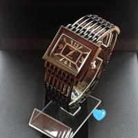 jam tangan gucci wanita / jtr 590 hitam