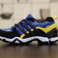 sepatu sport Adidas Terex Fast R gorotex original premium black blue