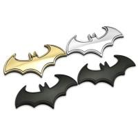 3D BatMan Metal Emblem Badge Decal Logo Stickers Besi