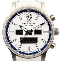 Jacques Lemans UEFA Future Champion - Jam Tangan Pria - Strap Leather