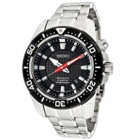 Seiko SKA511P1 Sportura Kinetic Diver Silver Black Red