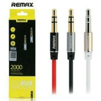 harga Kabel Audio AUX REMAX 3.5mm Cable 2m Handphone Speaker Smartphone Ori Tokopedia.com
