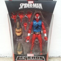 Marvel Legends - Scarlet Spider - Spider-Man - BAF Rhino wave
