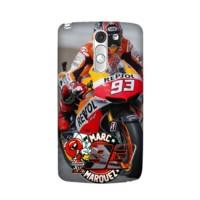 Custom Case Hp Marquez MotoGP LG G3 Stylus Casing