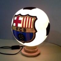 Lampu Hias / Tidur Barcelona dari Kayu dan Benang