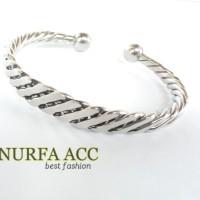 gelang wanita monel stainless khas jepara | kerajinan tangan