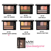 Nyx Love in Florence Eyeshadow Pallette