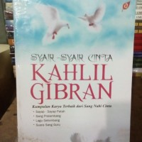 syair-syair cinta KAHLIL GIBRAN