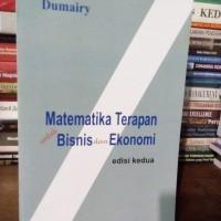 matematika terapan untuk bisnis dan ekonomi