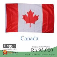Bendera Kanada Canada ukuran besar 1,5 meer