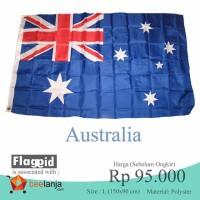 Bendera Australia Aussie ukuran besar 1,5 meter