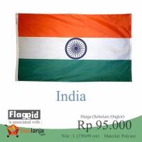 bendera india bollywood ukuran besar 1,5 meter