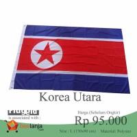 Bendera Korut Korea Utara North Korea Kim Jong Un