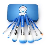 Jual DORAEMON BRUSH KALENG 7 in 1 / make up brush / kuas doraemon Murah