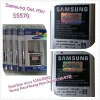 For Samsung Galaxy Star Duos 5282 Original Zein Battery/Baterai/Batere