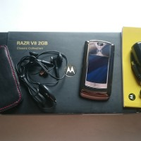 Motorola RAZR2 V8 2GB Rose / Espresso / Brown / Copper Luxury Edition