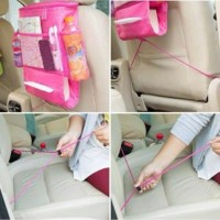 Car Seat Organizer - Rak Gantung Serbaguna Mobil / Pena Murah