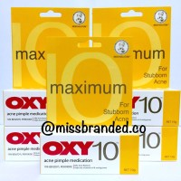 OXY 10 / OXY10 - ACNE PIMPLE MEDICATION - For Stubborn Acne - 10gram
