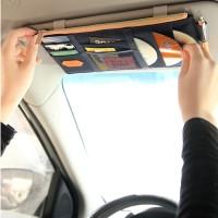 Dompet Gantung Mobil Kartu CD Handphone Hp Smartphone Uang Kecil Packa