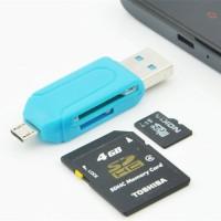 USB OTG Card Reader OTG TF / SD flash memory