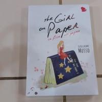 Novel The Girl On Paper (La Fille De Papier) - Guillaume Musso