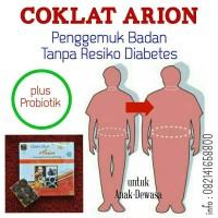 Coklat Arion Penggemuk Badan NO Resiko Diabetes + Probiotik Prebiotik