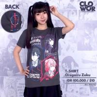 Oregairu Zoku Hachiman Yukino Yui Tshirt Anime Baju Kaos Distro