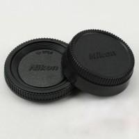 Jual Tutup Body dan Belakang Lensa Kamera Nikon Murah