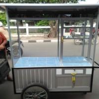 harga gerobak alumunium,gerobak gorengan,gerobak serbaguna,roda gerobak,YKK Tokopedia.com