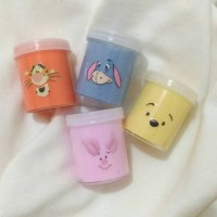 Winnie The Pooh Series Character Slime , ada squishy, splat toy