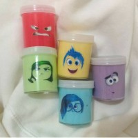 Inside Out Series Character Slime ,ada squishy , splat toy