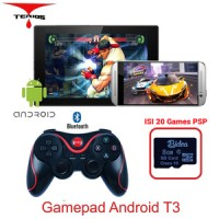Bluetooth Gamepad Android + 8G Game PSP SD Card with Lion Bat Terios