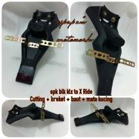 X Ride spakbor custom klx 150 versi B