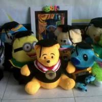 0812-9526-6220 Boneka wisuda President University teddy bear|Souvenir