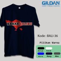 Kaos Gildan Softstyle - Pulau Bali, Kabar Baliku