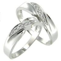 cincin tunangan sepasang, perak, nikah, kawin, palladium, emas