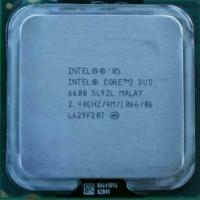 Processor Intel Core2 Duo E6600 2.4 Ghz Tray Tanpa Fan