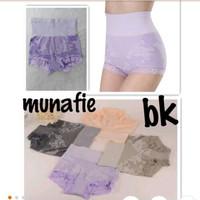 [ MOTIF BUNGA ] MUNAFIE MOTIF BUNGA SLIMMING PANTS