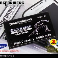 BATERAI TRANSFORMER SAMSUNG 9002 NOTE3 6000mah (TOKO MJA Murah 124578