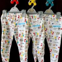 MIYO 3pcs Celana Panjang Tutup Kaki Motif 3-6 Bulan