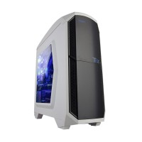 ARMAGGEDDON Microtron T2 Z White Gaming Casing