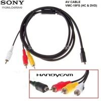 KABEL/CABLE AV SONY VMC-15FS (HC & DVD) FOR CAMCORDER HANDYCAM SONY