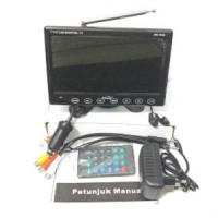"""TV MOBIL 7"""" INCH ON DASH MONITOR HW 798A...Real TFT Murah"""