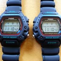 jam tangan pria dw290-1 digital ori tahan benturan army men millitary